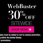 WebBuster: 30% Off