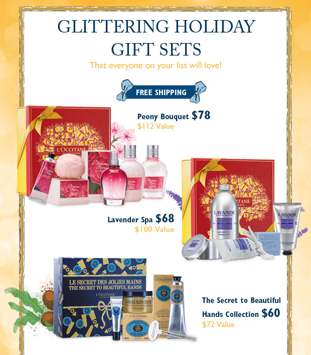 Glittering Holiday Gift Sets