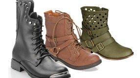 Military, Combat & Camo Boots