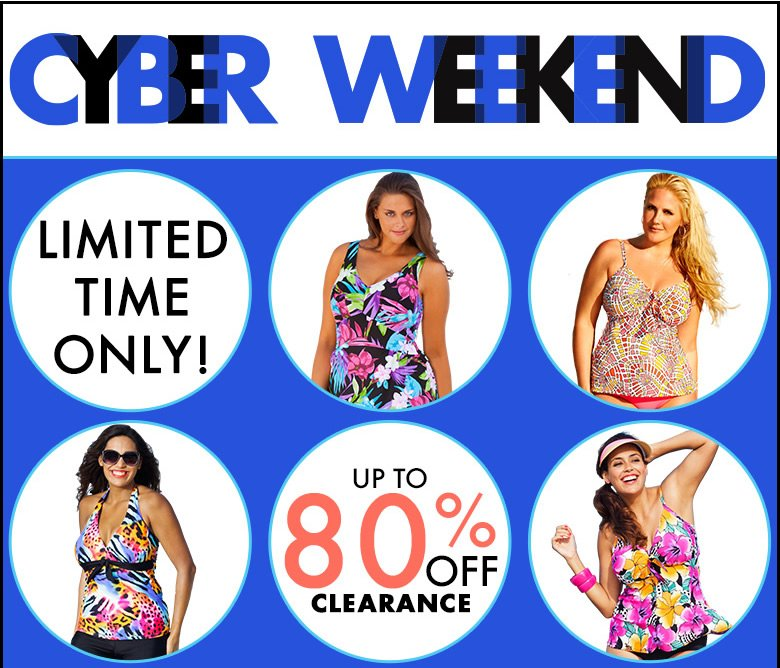 cyber weekend: up to 80% Off Clearance - New Styles Added - Shop Now
