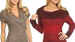 Sweaters from La Classe Couture and more
