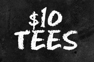 $10 Tees