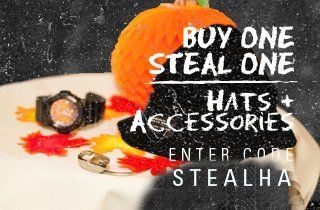 Buy one, Steal one: Hats/Accessories