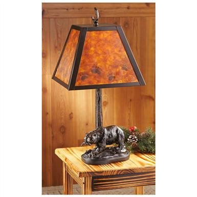 CastleCreek™ Mica Bear Lamp