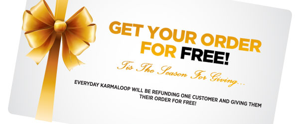 Get Your Order for Free