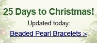 Beaded Pearl Bracelets