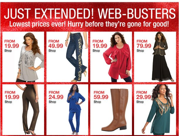 Just Extended! Web-Busters