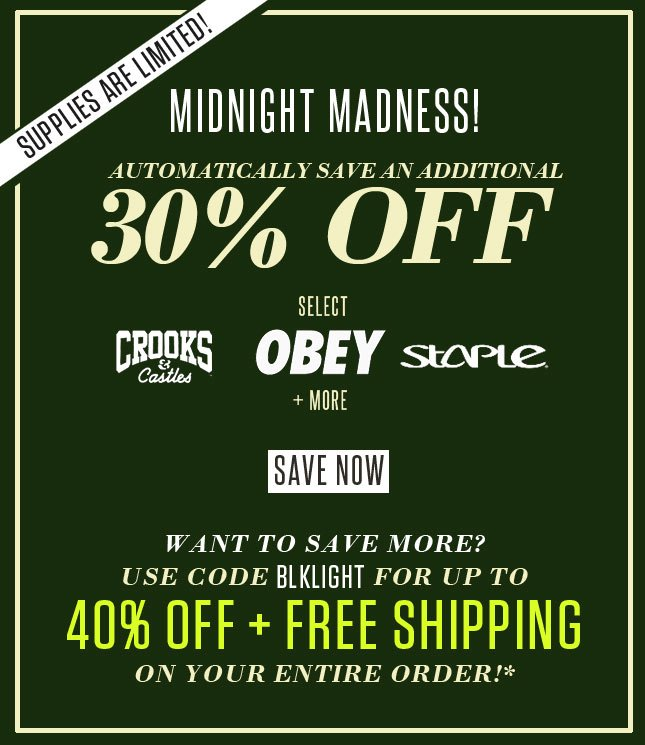 Midnight Madness at Karmaloop