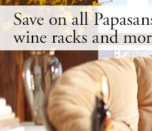 Save on all Papasans, media stands, wine racks and more