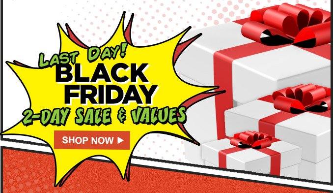 LAST DAY! | BLACK FRIDAY | 2-DAY SALE & VALUES | SHOP NOW