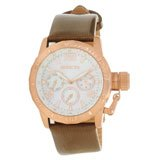 Invicta 14800 Womens Corduba Multifunction MOP Dial Brown Leather Strap Watch