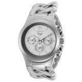 Invicta 15139 Womens Angel Silver Dial Twisted Steel Bracelet Watch