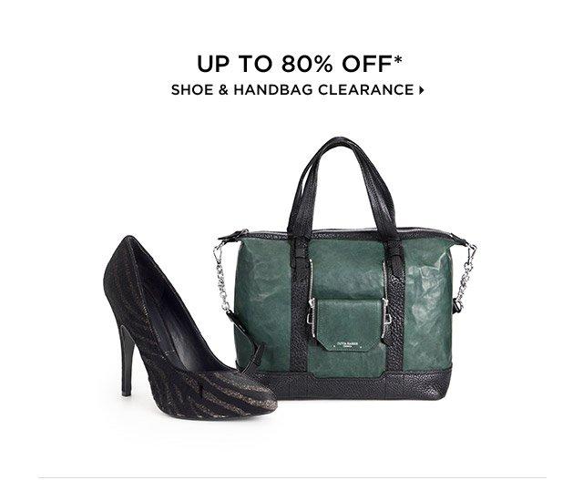 Up To 80% Off* Shoe & Handbag Clearance