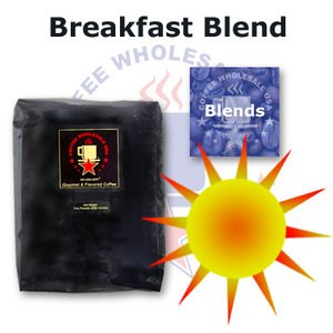 Breakfast blend whole bean favorite