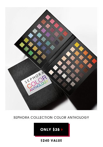 Sephora Collection Color Anthology | Only $35 | $240 Value
