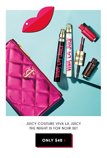 Juicy Couture Viva La Juicy The Night Is For Noir Set | Only $40