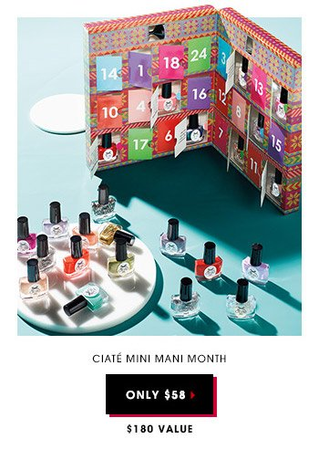 Ciaté Mini Mani Month | Only $58 | $180 Value