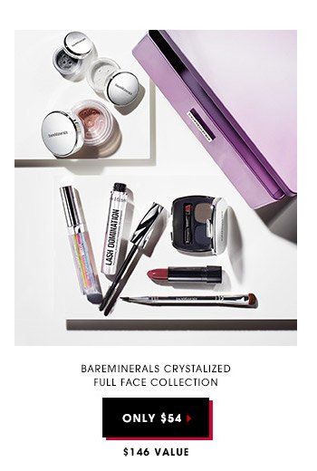 Bareminerals Crystalized Full Face Collection | Only $54 | $146 Value