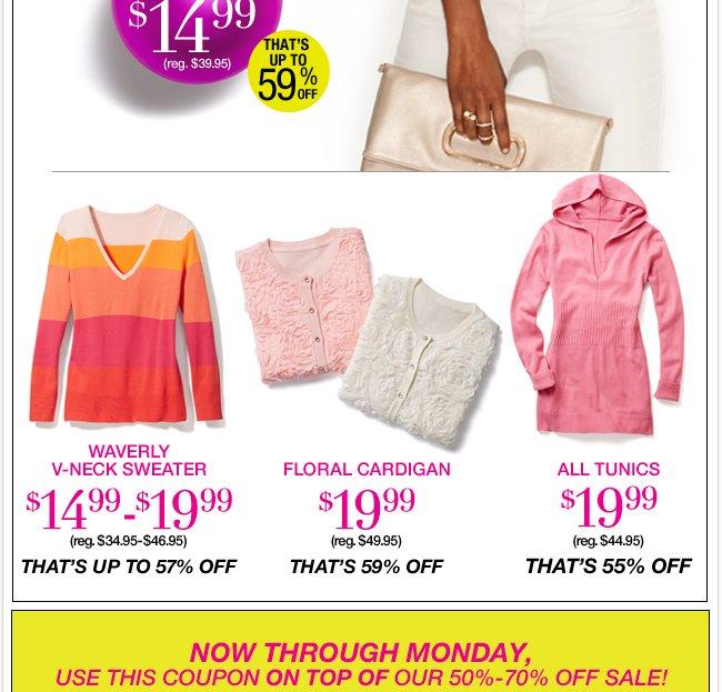 Saturday Doorbusters in stores & online till 2pm!