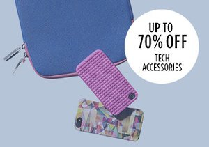 Up to 70% Off: Tech Accessories