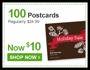 100 Postcards Regularly $24.99 Now $10 - Shop Now ›