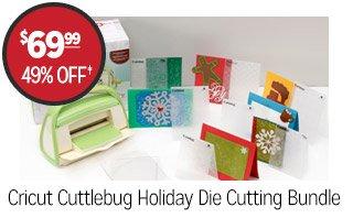 Cricut Cuttlebug Holiday Die Cutting Bundle - $69.99 - 49% off‡