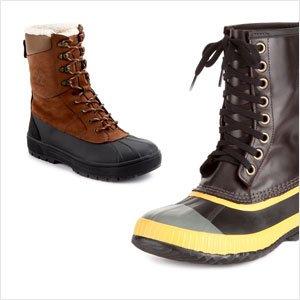 Tackle Shovel Duty: Men's Winter Boots