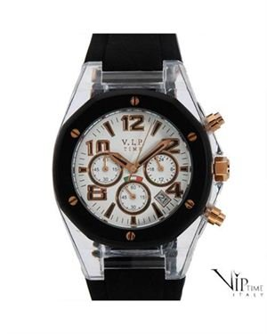 VIP TIME ITALY Date Chronograph Unisex Watch