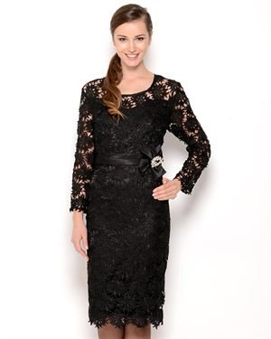 Anna Kevin Floral Lace Dress