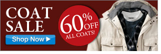 coat sale - 60 percent off all coats - click the link below