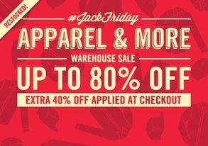 Shop JackFriday Warehouse Sale: Apparel