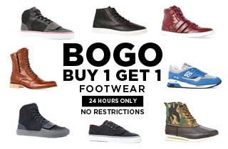 Footwear BOGO!