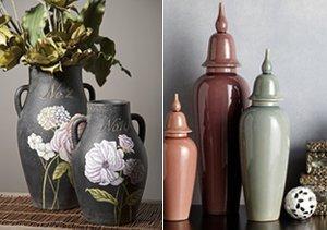 Get Inspired: Midnight Botanical Décor