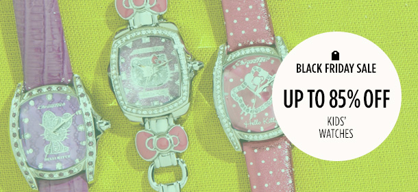 Up to 85% Off: Kids' Watches