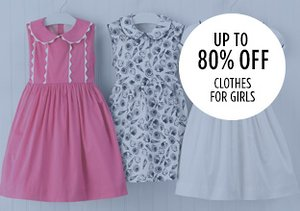 Up to 80% Off: Clothes for Girls