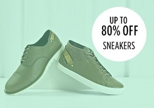 Up to 80% Off: Sneakers