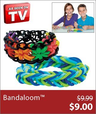 As Seen on TV Bandaloom™