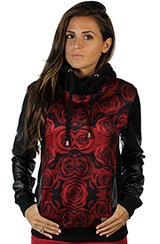 Blood Rose Women Hoodie