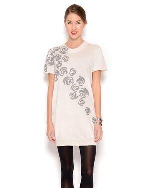 Cacharel Detailed Wool Dress