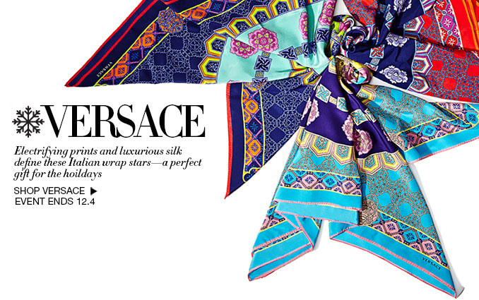 Shop Versace Scarves Women