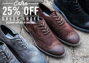 Shop Extra 25% Off: Damn Fine Dress Shoes