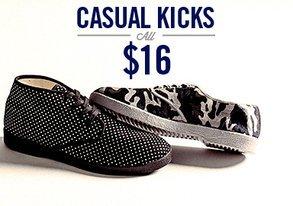 Shop Casual Kicks ALL $16