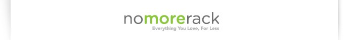 nomorerack, everything you love for less