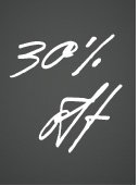 30% off selected items ends tomorrow. Discount will be automatically applied at checkout. Shop now
