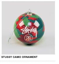 Stussy Camo Ornament
