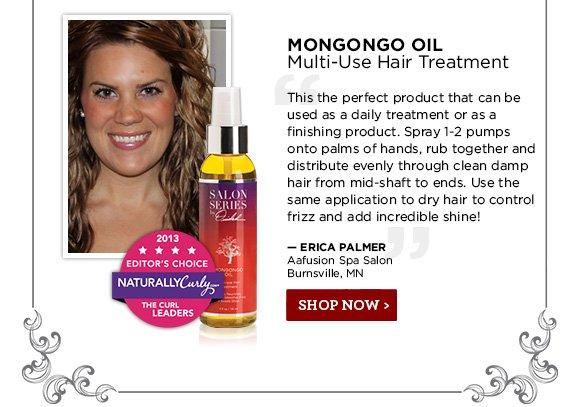 MONGONGO OIL- Multi-Use Hair Treatment