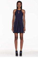 STELLA MCCARTNEY Navy Racerback Dress for women