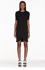 STELLA MCCARTNEY Black sweetheart shift dress for women