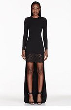 STELLA MCCARTNEY Black Lace Layer Dress for women