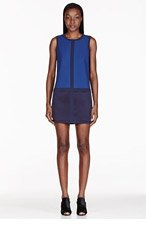 RAG & BONE Blue Margot Colorblocked Dress for women
